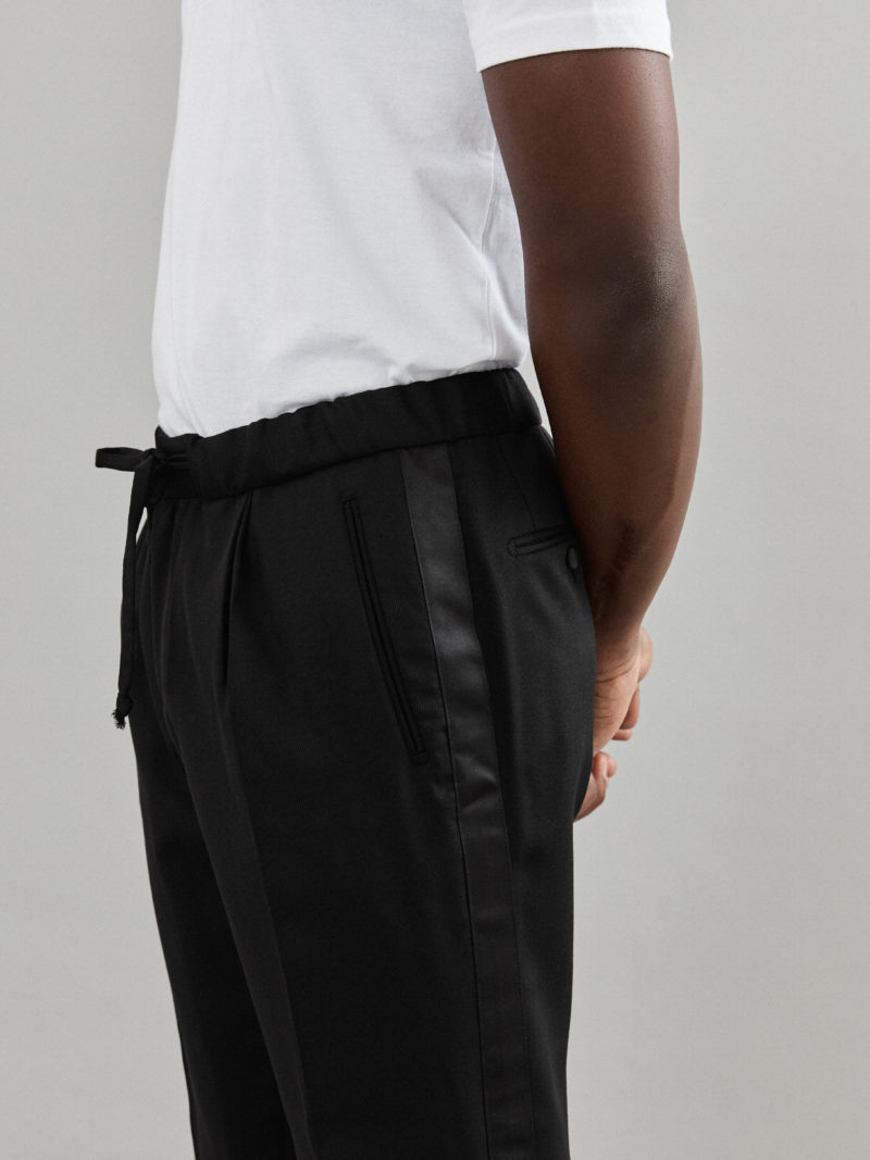 Tailored Pants Black Wool