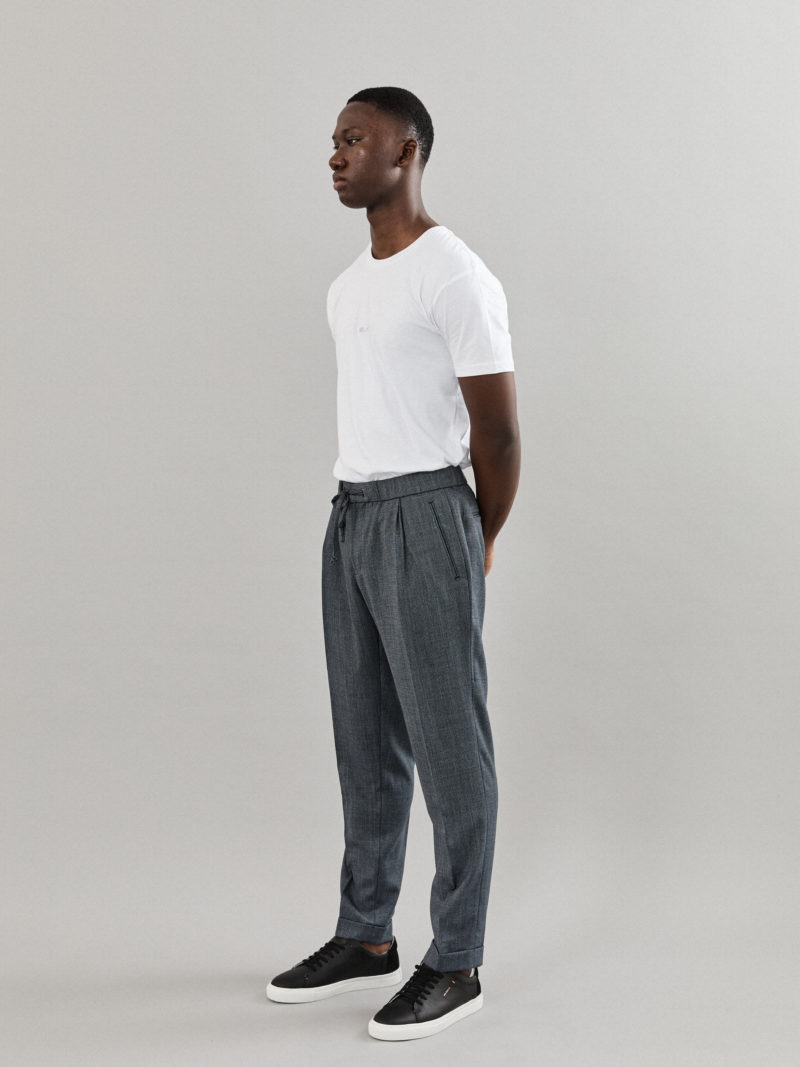 Tailored Grey Blue Pants