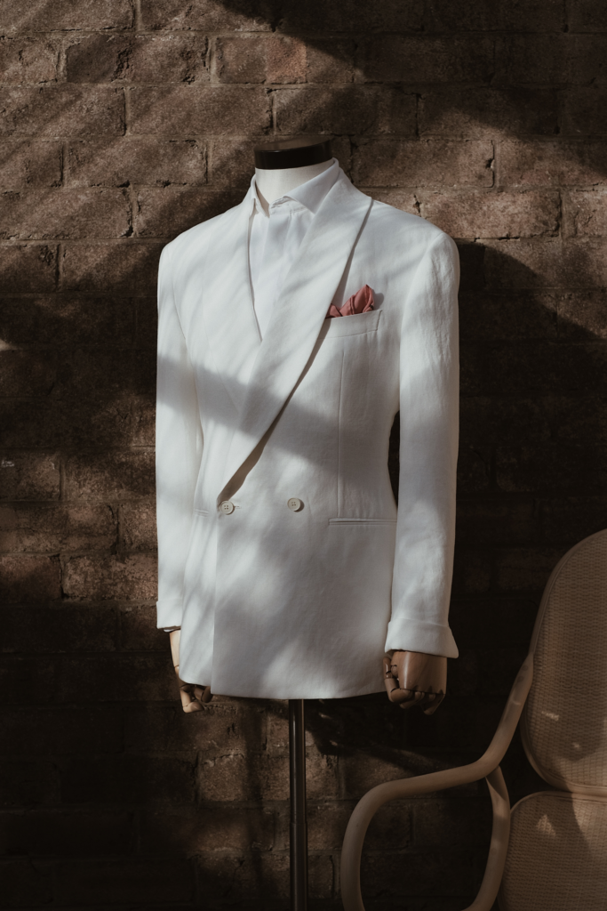 Made to Measure White Suit