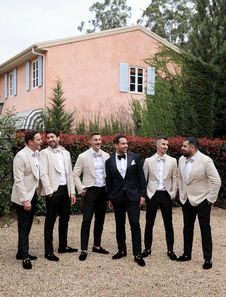 groomsmen custom suit