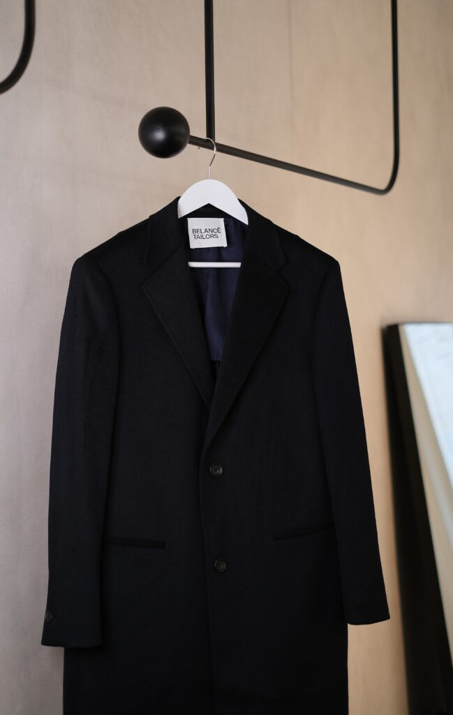 made to measure overcoat